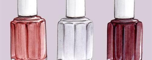 Fall Nail Polish by Joanna Baker Illustration