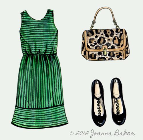 Fall Transition Fashion Illustration by Joanna Baker