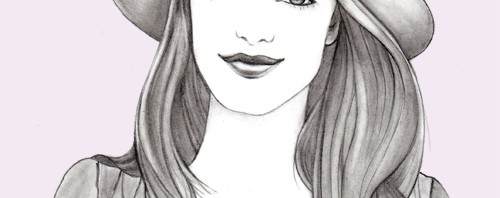 Gal Meets Glam Blogger Illustration by Joanna Baker
