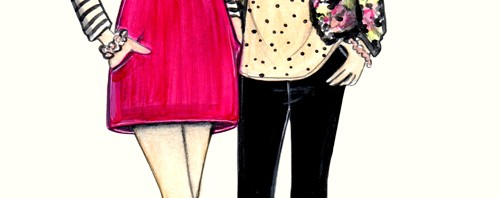 T & J Designs Custom Fashion Illustration by Joanna Baker