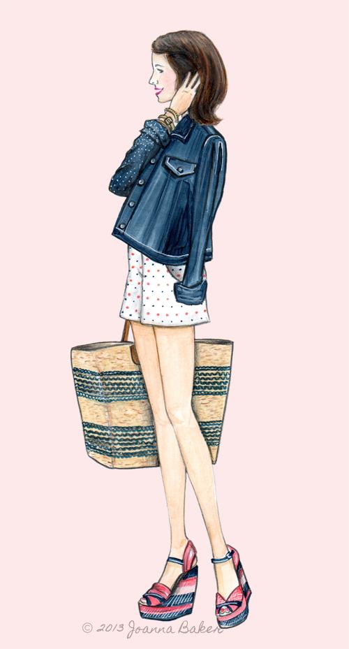 Blogger Inspired: Sequins & Stripes