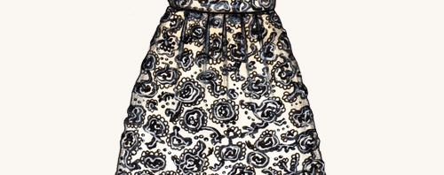Little Black Dress Fashion Illustration by Joanna Baker