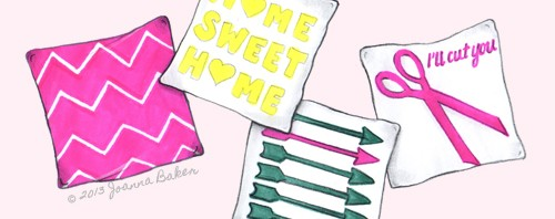Pillow Talk Illustration by Joanna Baker