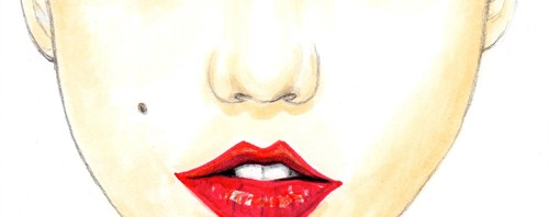 Karlie Kloss Fashion Illustration by Joanna Baker