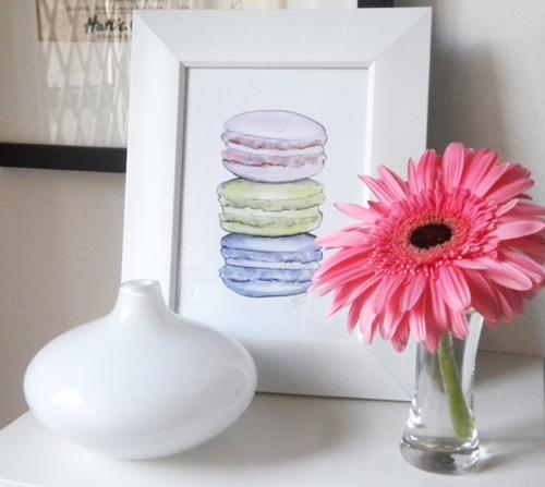 Macarons Illustration by Joanna Baker
