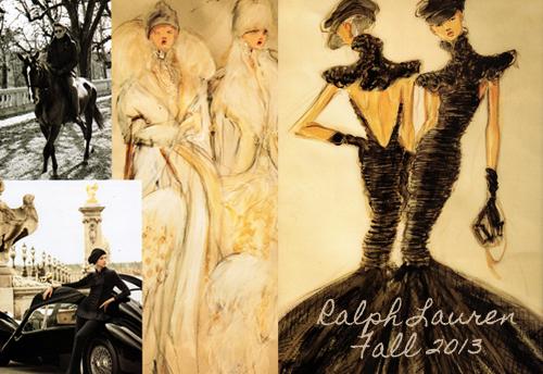 Ralph Lauren Fashion Illustrations