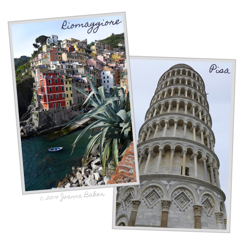 Honeymoon in Italy Illustrations by Joanna Baker