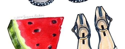 July Fourth Illustration by Joanna Baker
