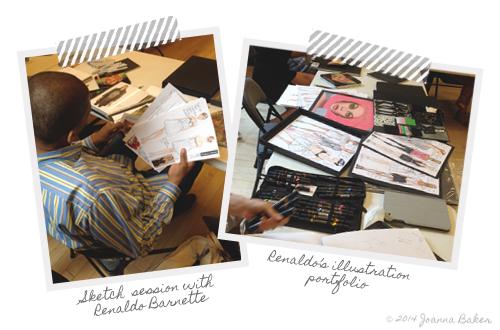 Renaldo Barnette Fashion Illustrator