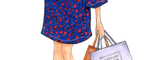 Eva Chen Fashion Illustration by Joanna Baker