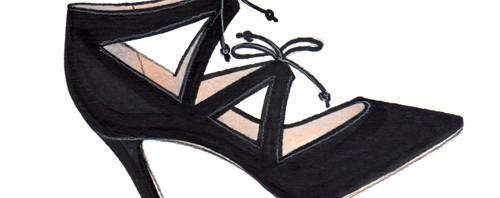 Fashion Week Stilettos Illustration by Joanna Baker