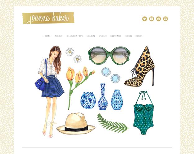 Website Refresh - Joanna Baker Illustration