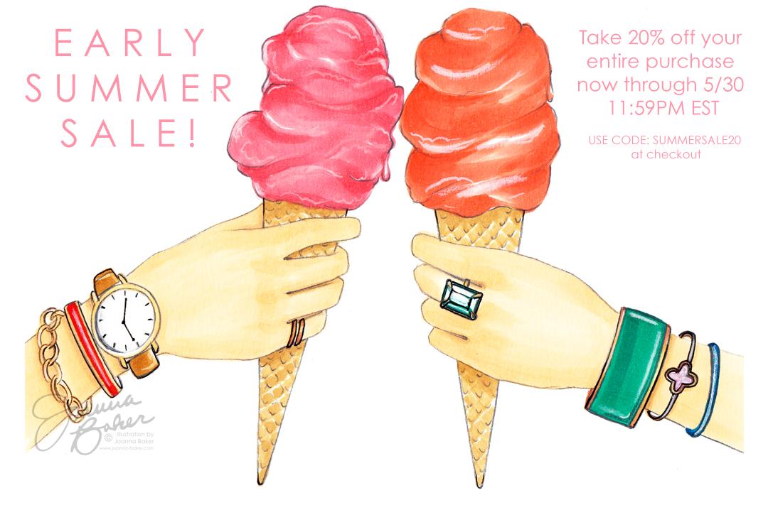Joanna Baker Illustration Shop Sale