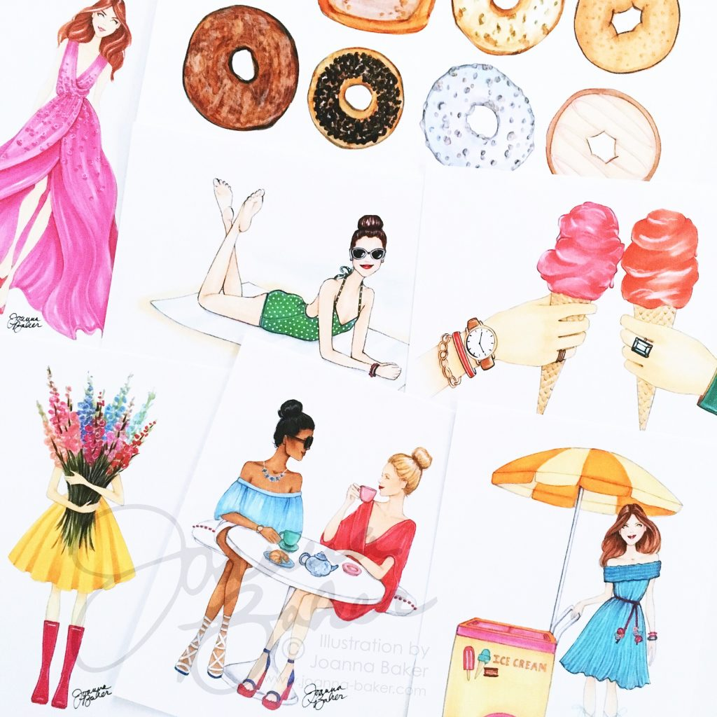 New Summer Prints by Joanna Baker