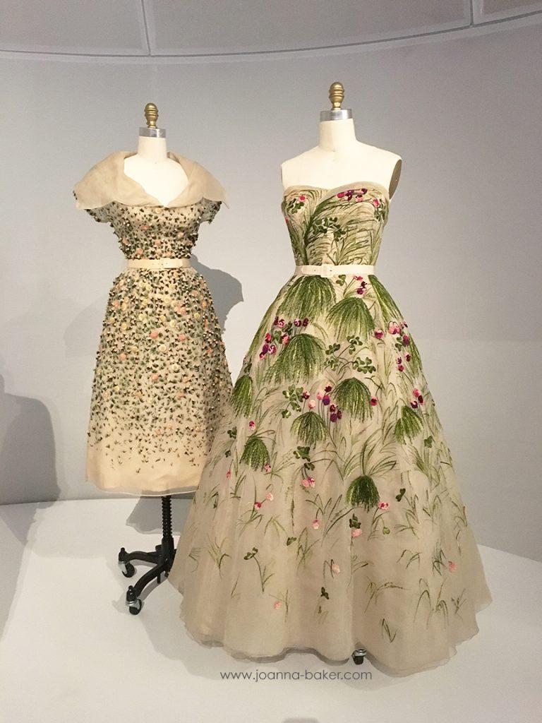 Vintage Dior - Met Museum Costume Institute, photo by Joanna Baker