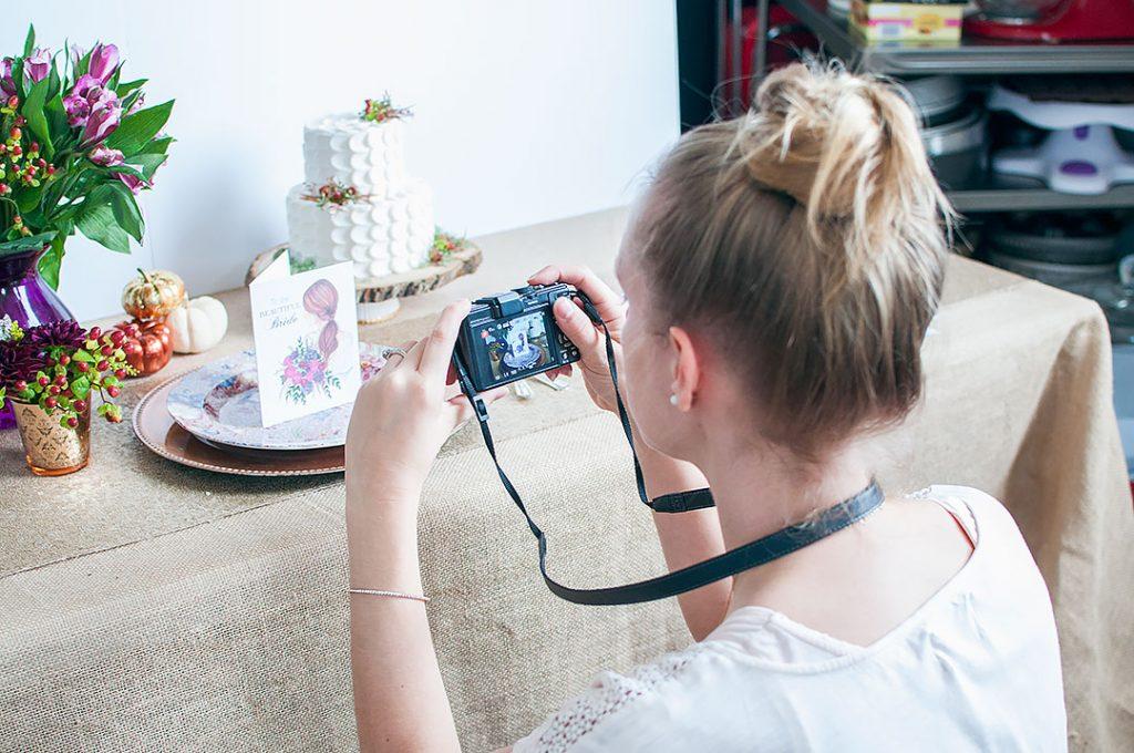 Fall Wedding Photoshoot - Joanna Baker & Chicky Treats