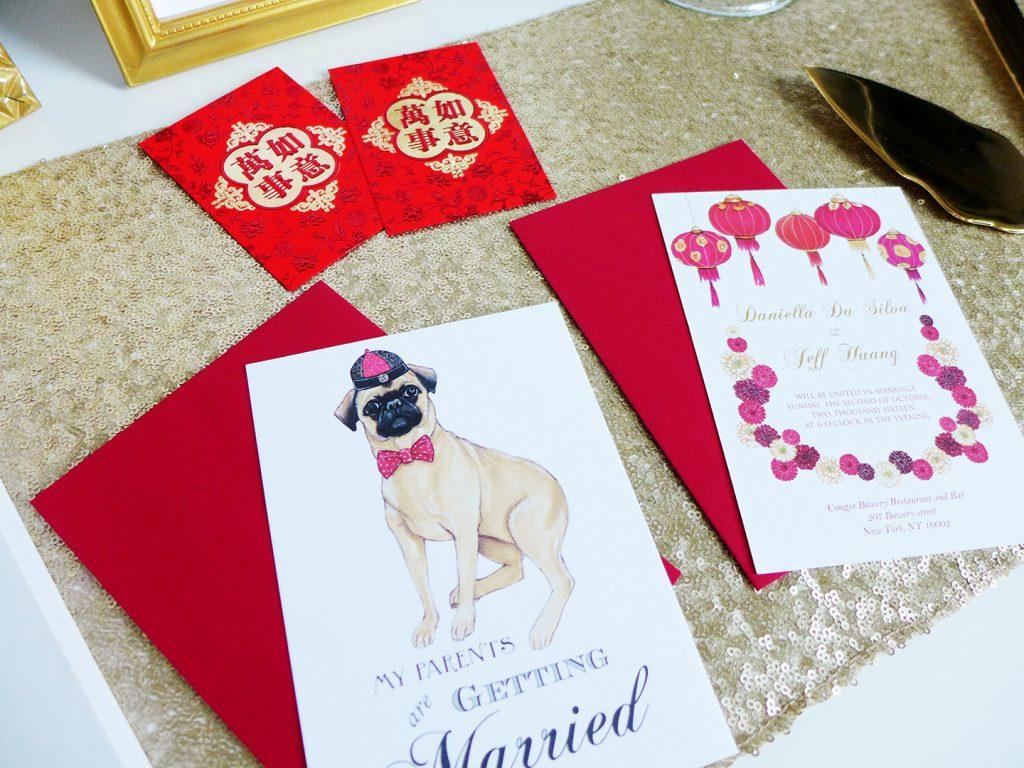 Daniella's Wedding Invites by Joanna Baker