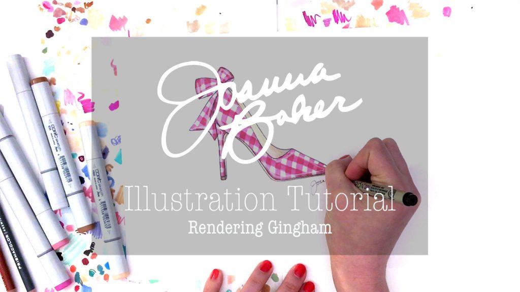 Joanna Baker Illustration - Gingham Tutorial