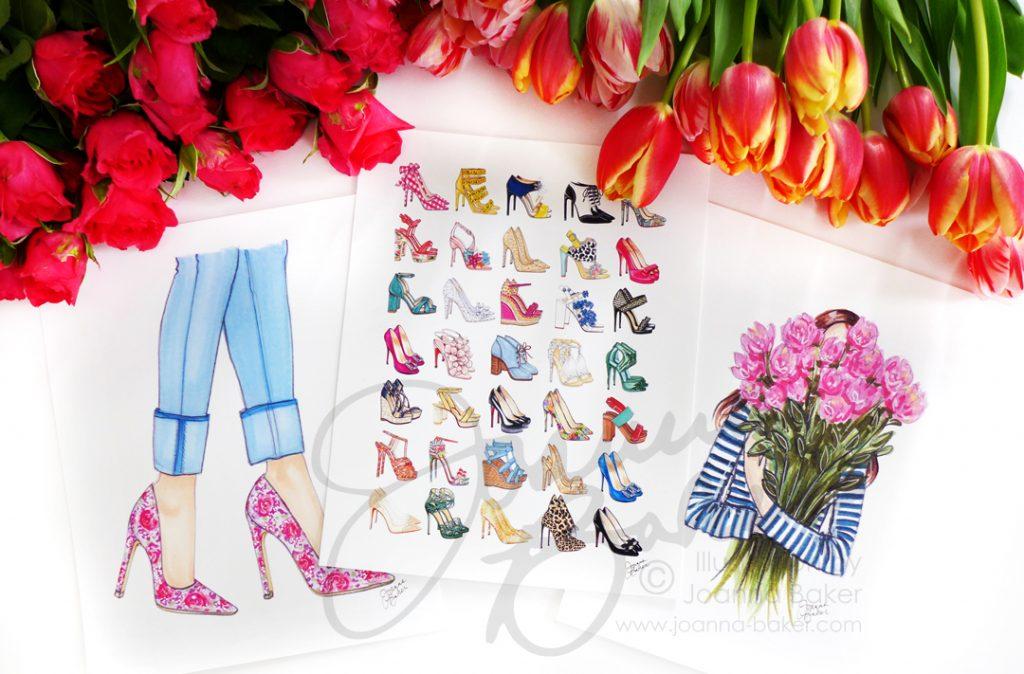 Shop Spring Prints by Joanna Baker