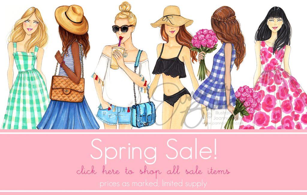 Shop the Spring Illustration Sale by Joanna Baker