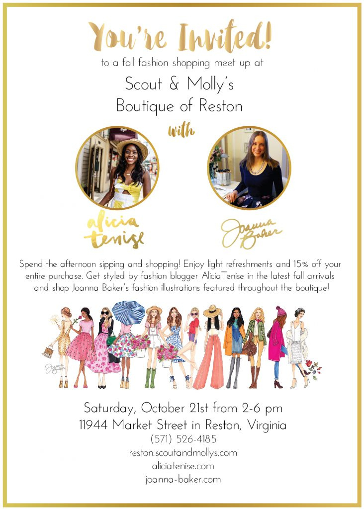 Scout & Molly's Collab with Alicia Tenise & Joanna Baker