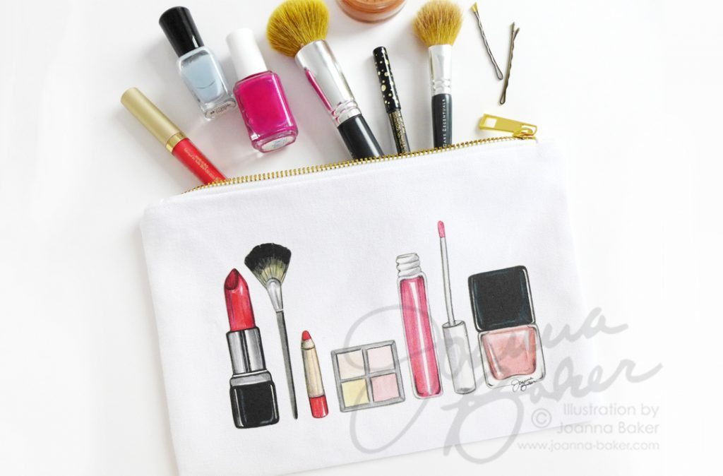 Brand New Cosmetic Cases for Holiday!