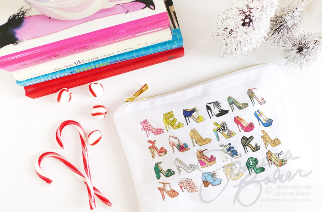 Cosmetic Cases by Joanna Baker Illustration
