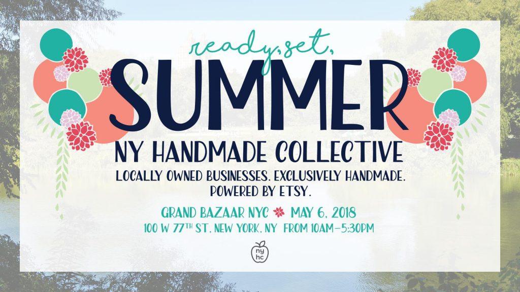 Ready Set Summer with Grand Bazaar & NY Handmade Collective