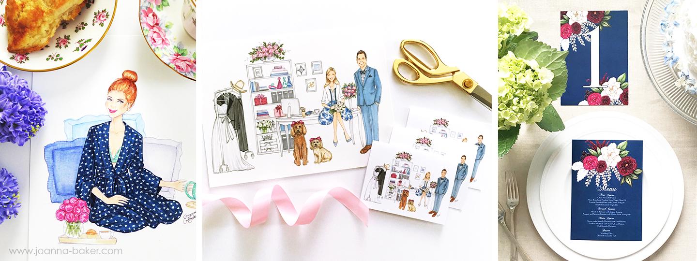 Joanna Baker Illustration - Commissions