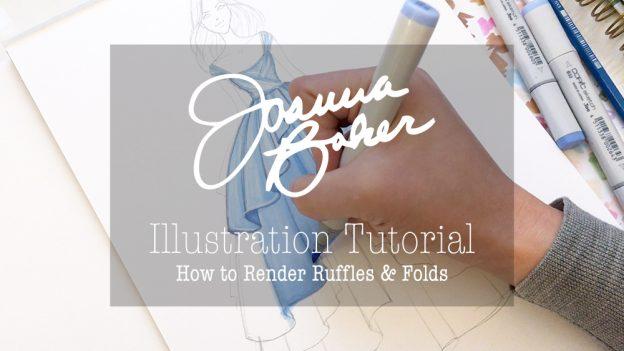 Joanna Baker Illustration - How to Draw Ruffles & Folds
