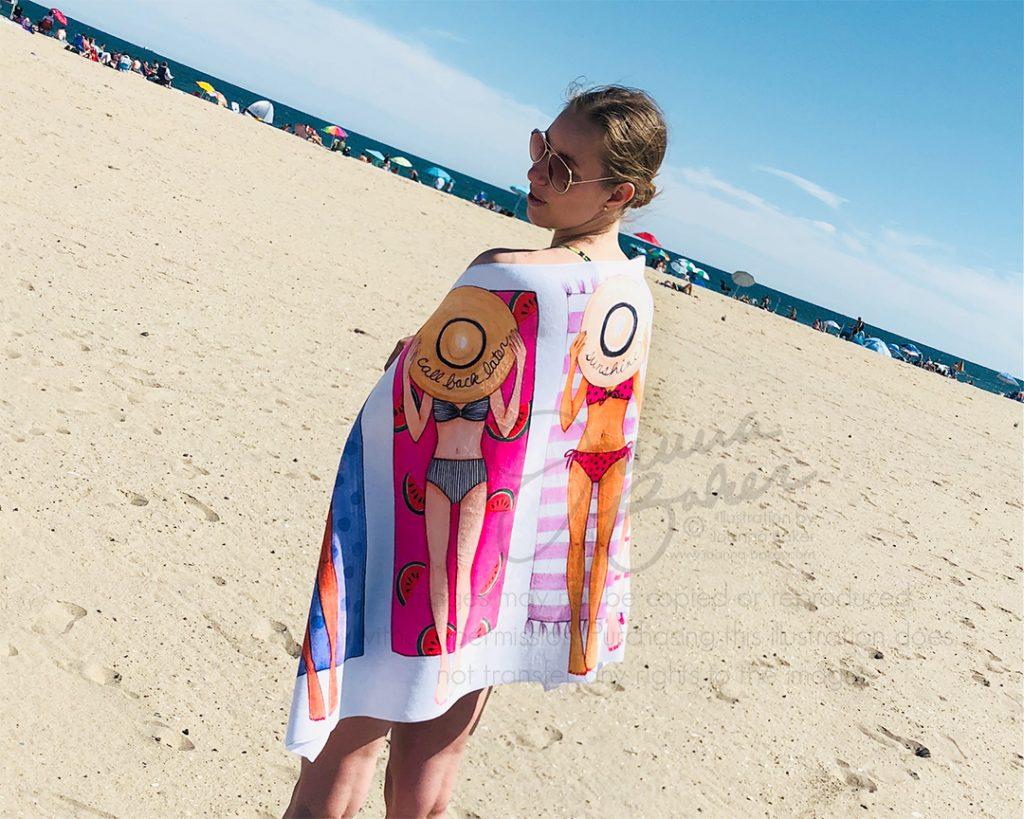 Summer Beach Towels by Joanna Baker