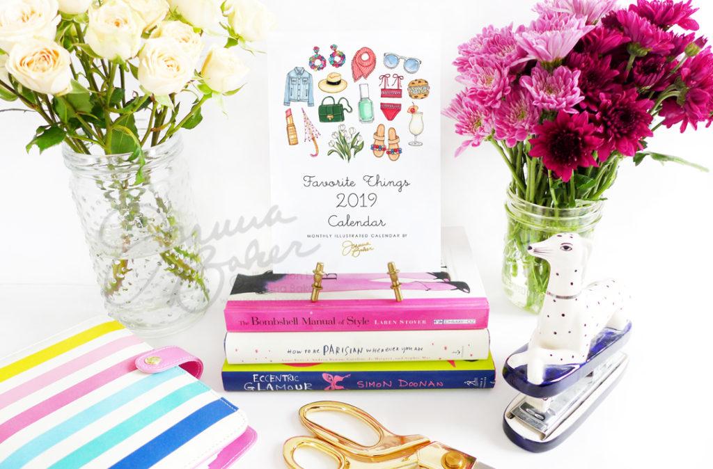 Shop the Favorite Things 2019 Calendar by Joanna Baker
