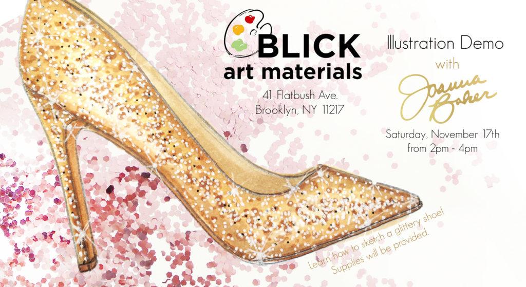 Blick Art Materials x Joanna Baker - Drawing Demo!