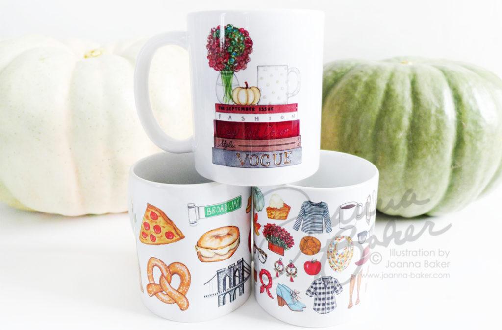 Shop New Fall Mugs by Joanna Baker