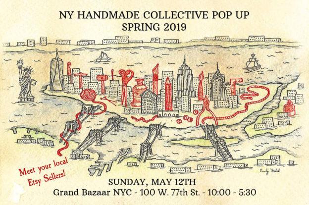 NY Handmade Collective Spring Etsy Pop Up
