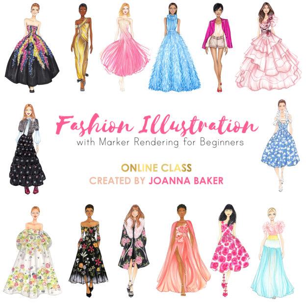 Joanna Baker Fashion Illustration Online Course
