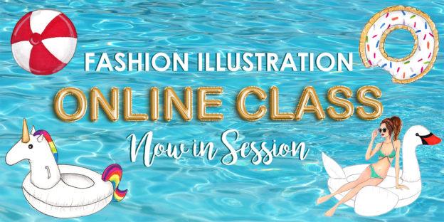 Online Fashion Illustration Class by Joanna Baker