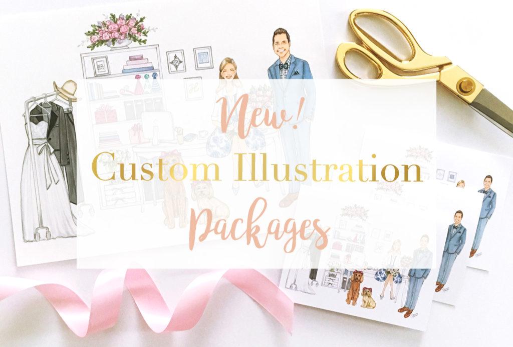 Custom Illustration Packages by Joanna Baker