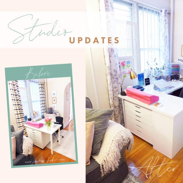 Joanna Baker Illustration Home Studio