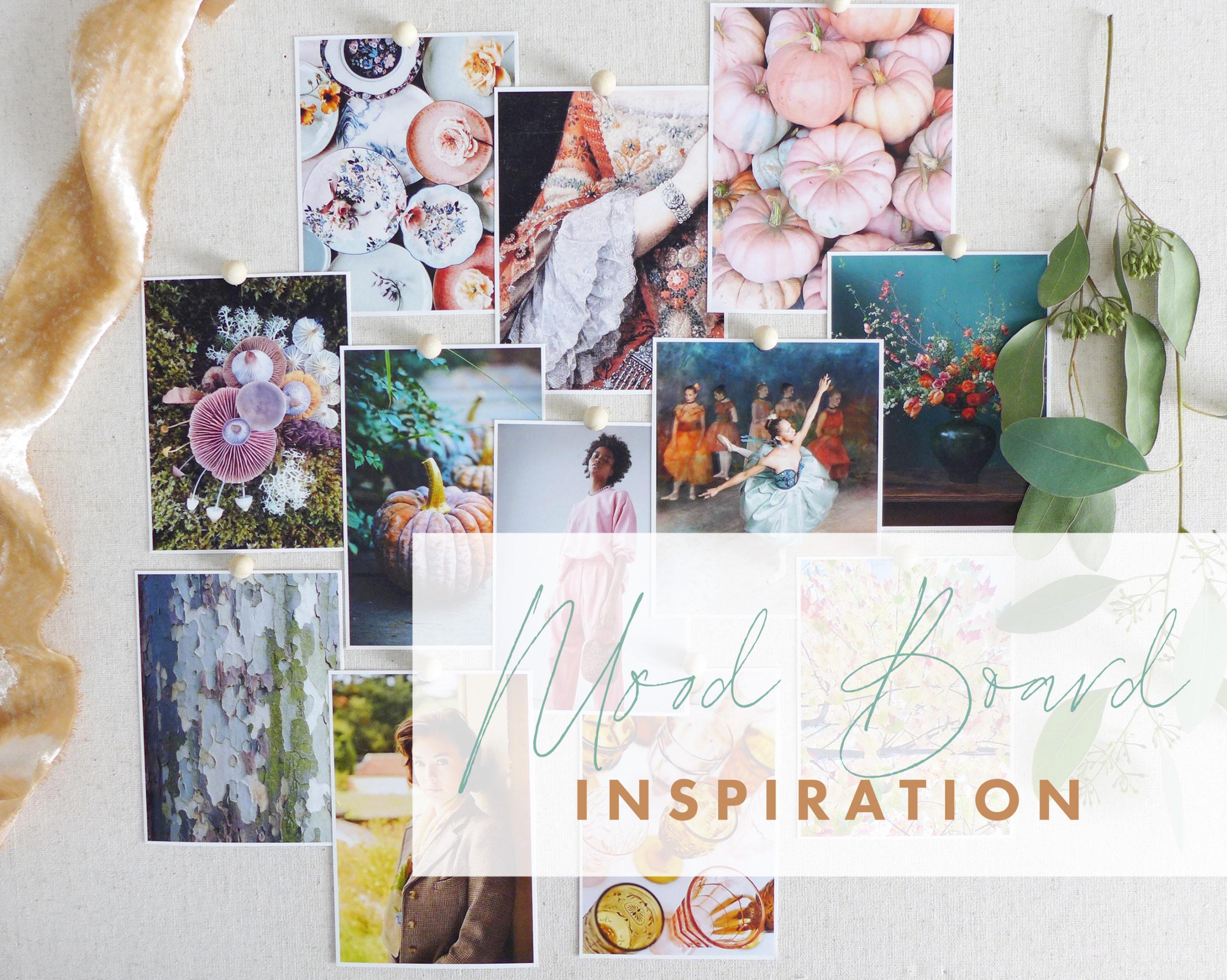 Fall 2020 Mood Board by Joanna Baker