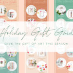 2020 Holiday Gift Guide by Joanna Baker Illustration