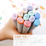 Joanna Baker Illustration Top 10 Copic Sketch Marker Tips