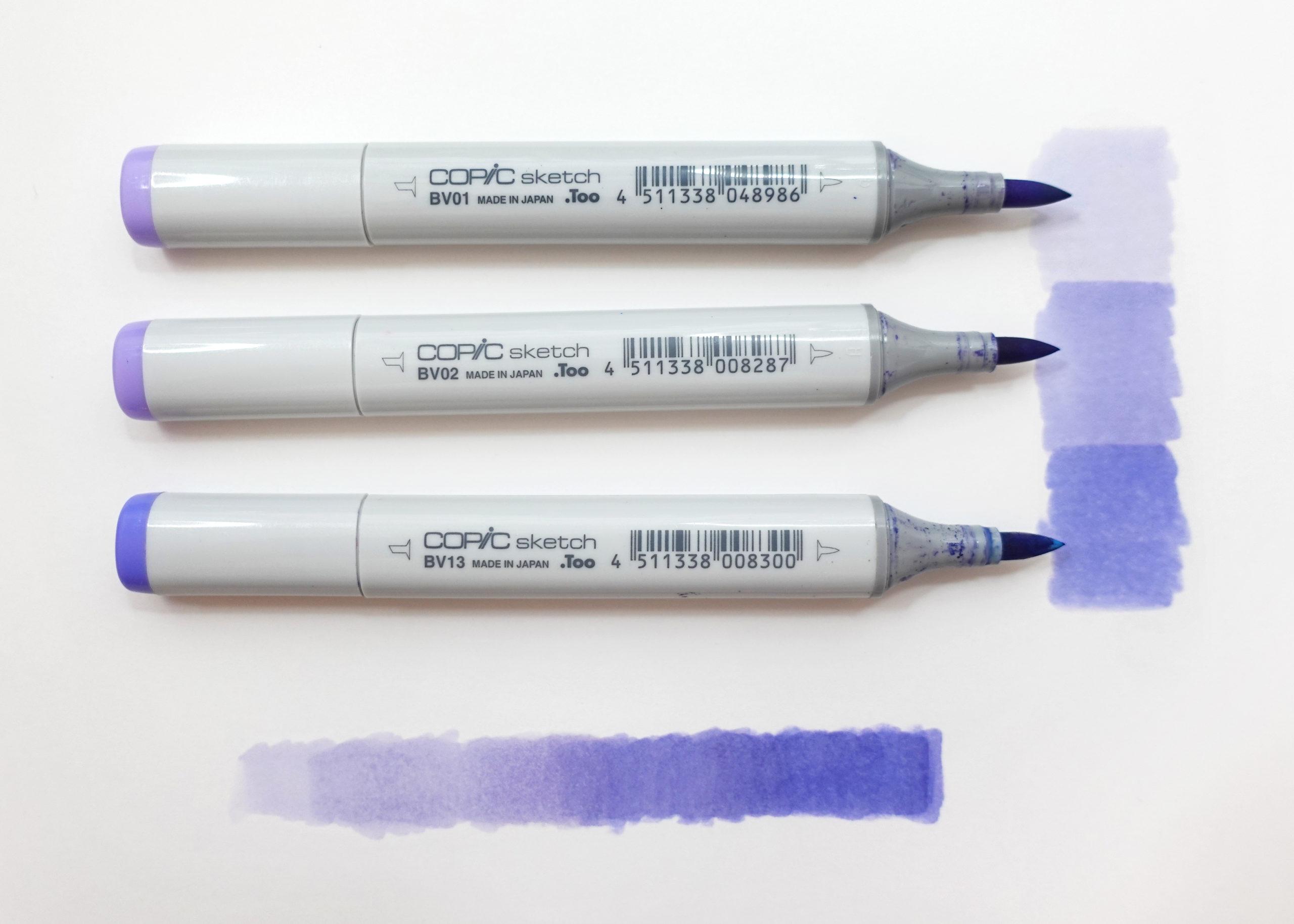 Joanna Baker Copic Sketch Marker Blending Tips