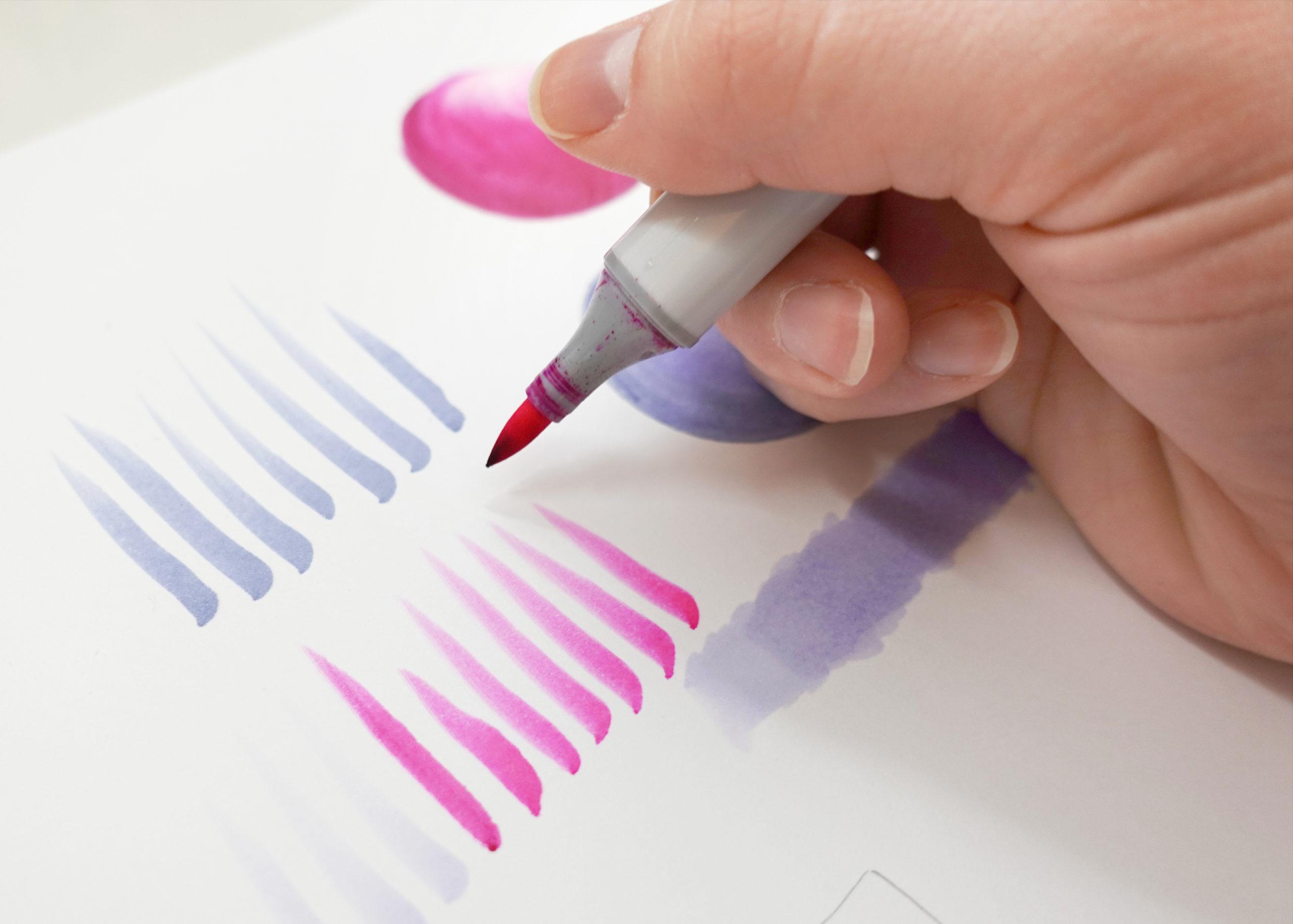 Joanna Baker Copic Sketch Marker Tips