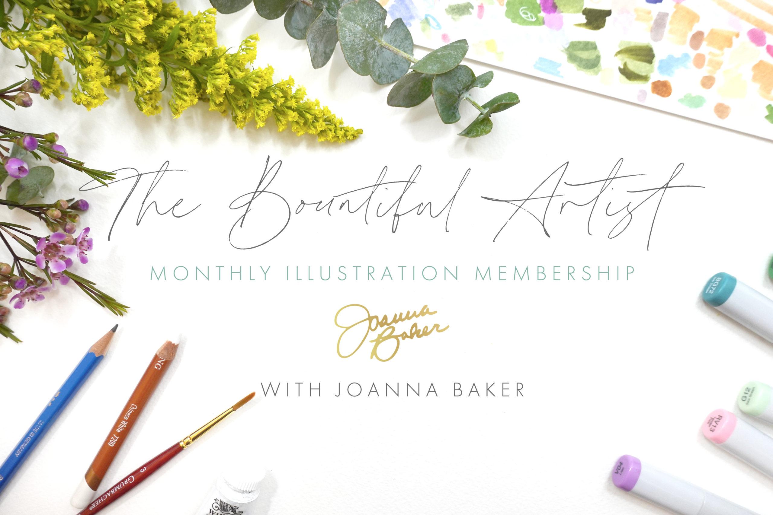 The Bountiful Artist by Joanna Baker