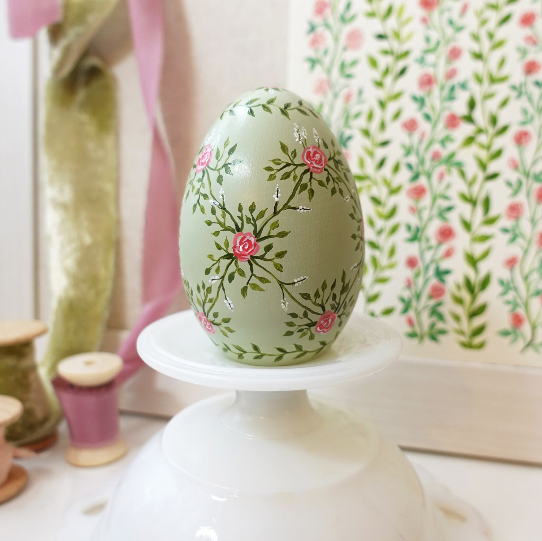 Hand-Painted Heirloom Easter Eggs by Joanna Baker