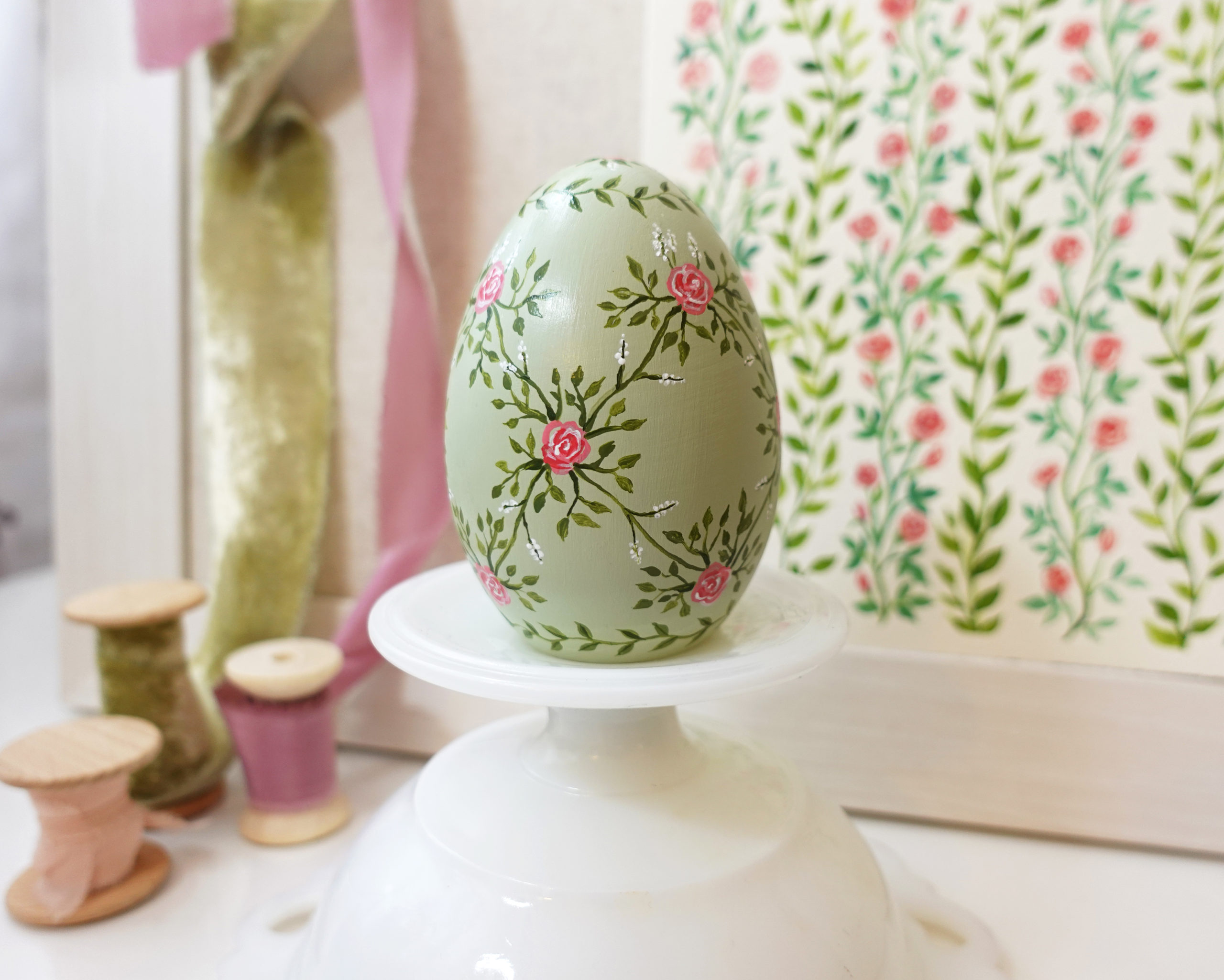Hand-Painted Heirloom Easter Eggs by Joanna Baker