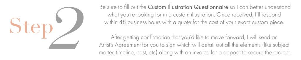 Custom Illustration Step 2