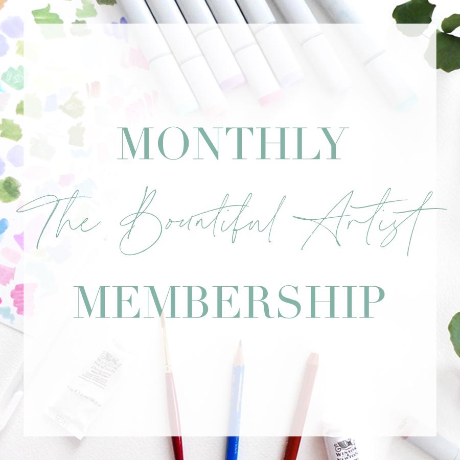 The Bountiful Artist Monthly Illustration Membership