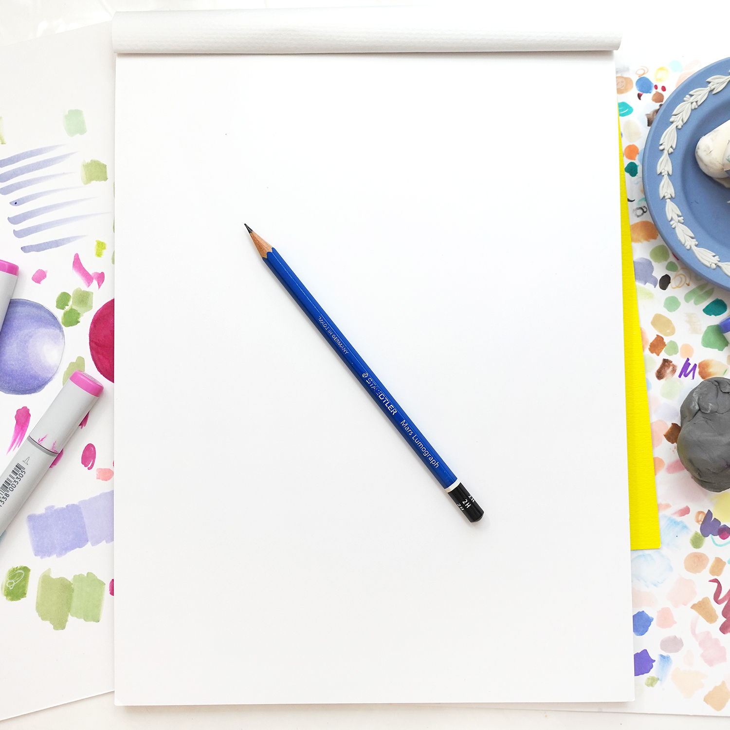 Overcoming Blank Page Overwhelm - Creative Tips by Joanna Baker
